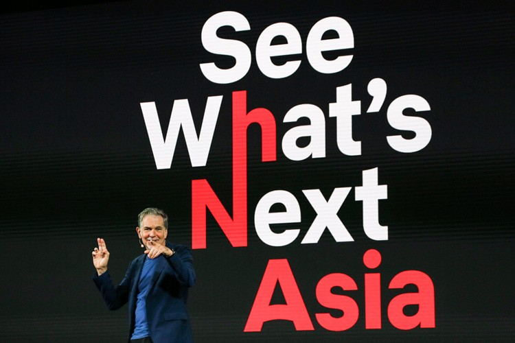 SINGAPORE. Founder and chief executive officer Reed Hastings shared about the company's plans including those that affects Asia and the rest of the world. (Contributed photo/ Netflix)