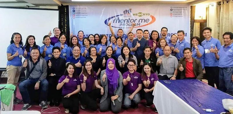 CAGAYAN DE ORO. The 21 micro, small and medium entrepreneurs from Iligan City and Lanao del Norte who completed the Kapatid Mentor Me program of the Department of Trade and Industry. (Photo from DTI-Northern Mindanao)