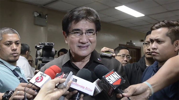 MANILA. Senator Gregorio Honasan II was named the new DICT secretary. (Screenshot from SunStar video)