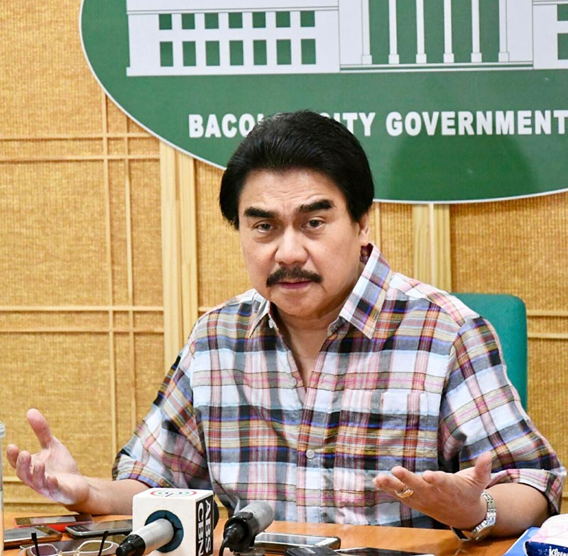 BACOLOD. Bacolod City Mayor Evelio Leonardia is nominated in two of the 20 categories at the Asia Leaders Awards 2018.