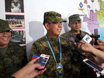 Armed Forces of the Philippines (AFP) chief-of-staff General Carlito Galvez Jr. (Juliet Revita)