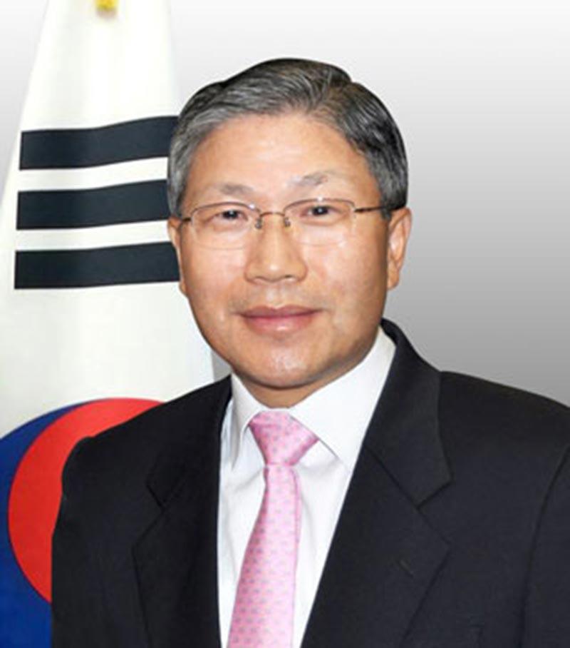 Korea Ambassador Han Dong-man (Contributed photo)