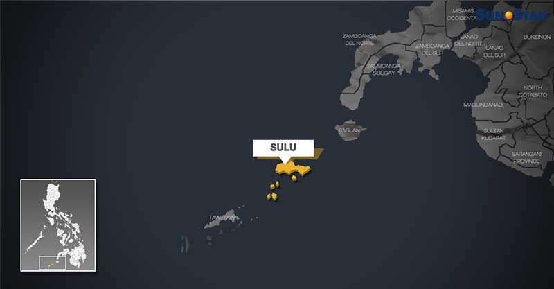 Map of Sulu. (SunStar graphics)