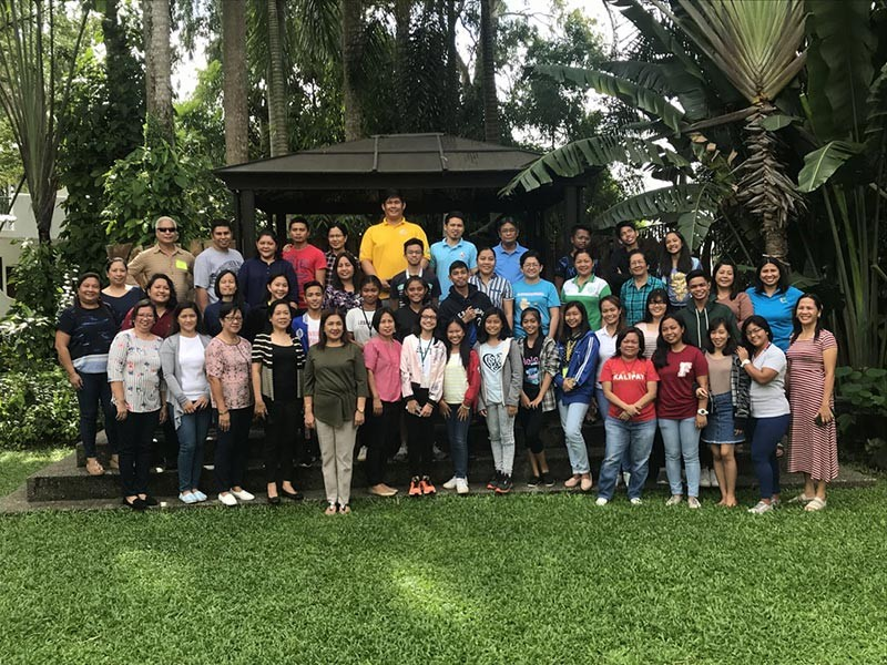 Participants of the consultative workshop on the formulation of the Provincial Development Plan for Children at Nature's Village Resort. (Rose Jessica F. Octaviano)