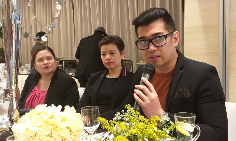 BACOLOD. Megaworld senior vice president and head of public relations and media affairs Harold Brian Geronimo (right) with Richmonde Hotel Iloilo general manager Natalie Lim (center) and Megaworld Iloilo vice president for sales and marketing Jennifer Palmares Fong in Iloilo City, on November 13.