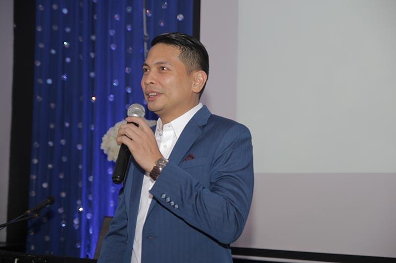 DAVAO. Seda Abreeza Hotel's general manager Ken Kapulong sending his warm thanks to Seda's clients and partners. (Seda Abreeza photo)