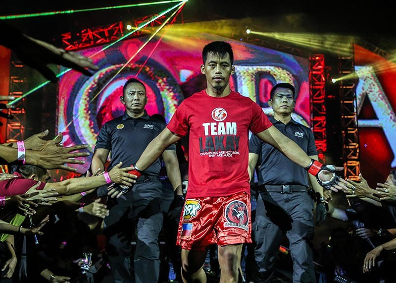 BAGUIO. After his five game winning streak was snapped, Honorio Banario goes back to the drawing board and hopes to resumes his winning ways in his One Championship return on November 23 at the Mall of Asia Arena. (ONE Championship)