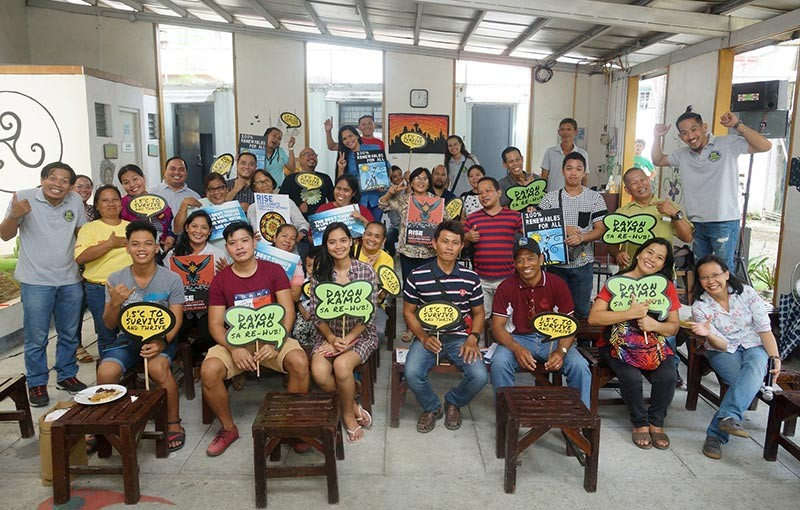TACLOBAN CITY. The City Government of Tacloban launches the first community center on renewable energy on Saturday, November 17, 2018. (Photo courtesy of ICSC)