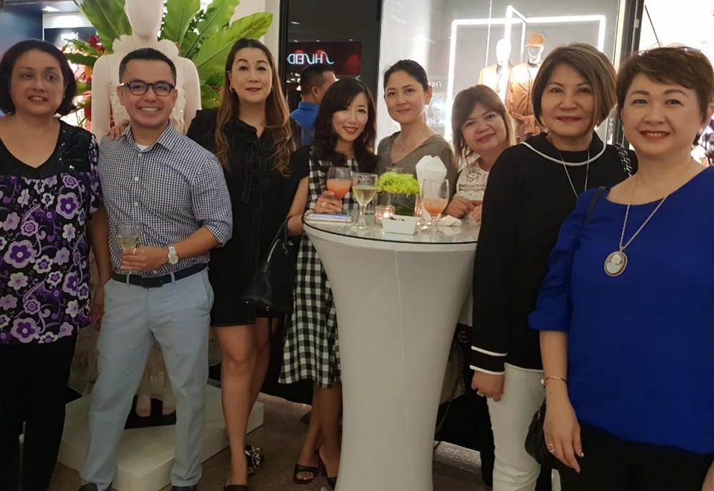 MAITE GARCIA, Jun Escario, Frances Siao, Kumiko Onda, Christine Gaisano, Estrellita Wong, Henrietta Robins and Juvy Lim