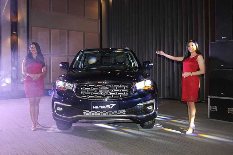 PAMPANGA. Haima Philippines unveiled the all-new Haima S7 during the customers' appreciation night at the LausGroup Event Centre on Friday. (JTD)