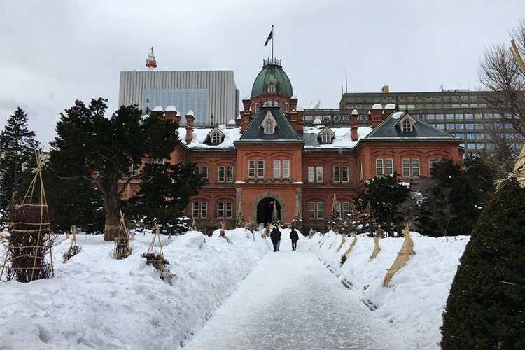 Red brick building is the other name for the former Hokkaido Government Office Building. (Photo /  Melanie Lim)