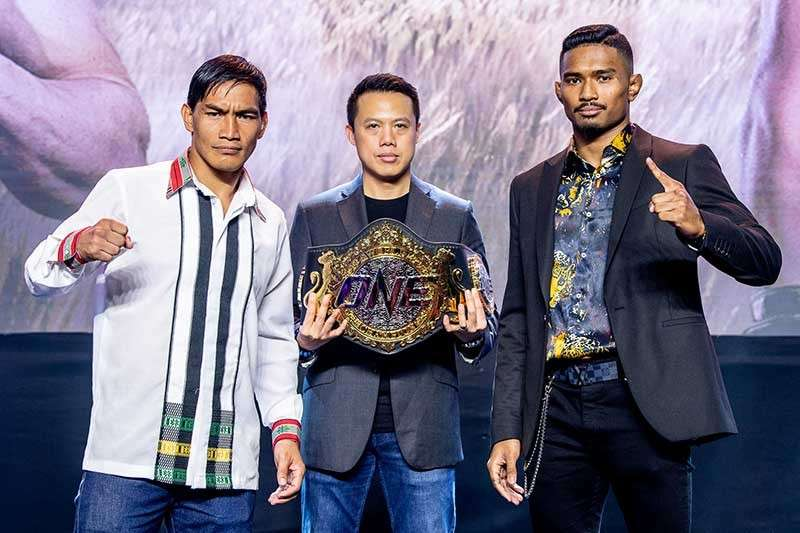 BAGUIO. Eduard Folayang and Amir Khan promised to go all out in their title match as co-headliner of the ONE Championship event to be held at the Mall of Asia Arena on Friday, November 23. (ONE Championship photo)