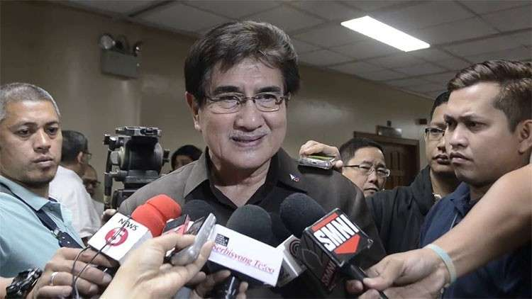 MANILA. Senator Gregorio Honasan II was named the new DICT secretary. (Screenshot from SunStar video)