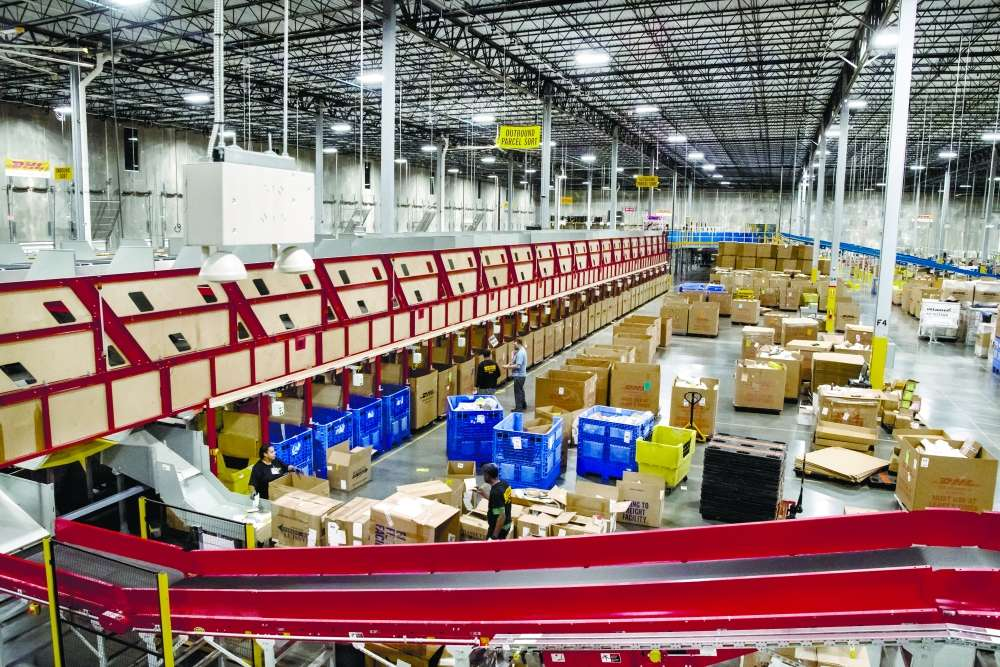 ALL SET. The DHL distribution center is fully automated, ready for the huge volume of deliveries expected for Black Friday and Cyber Monday. As the country gears up for the busiest shopping season of the year, consumers and retailers are warned about websites vulnerable to hackers.  AP FOTO