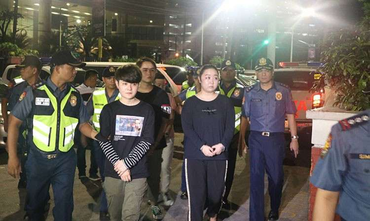Photo from Makati Police Station