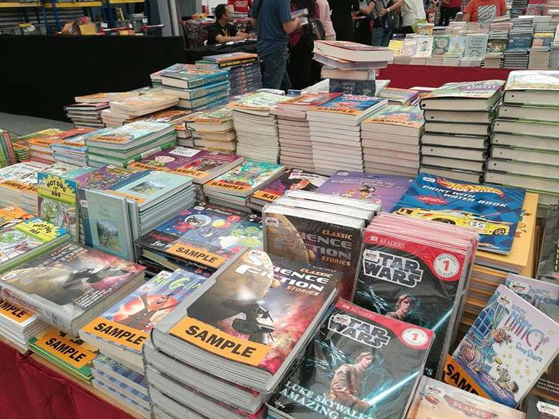 DAVAO. Rare copies and editions of sealed books and comics are available in BBW as well. (Macky Lim)