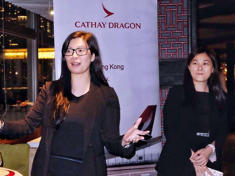 HONG KONG. Dinner host Samantha Poon of Marco Polo Hong Kong Hotels