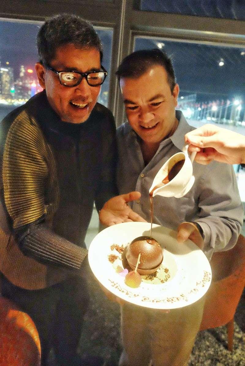 HONG KONG. Just like two years ago. Celebrating another birthday at Cucina, Marco Polo Hong Kong Hotel