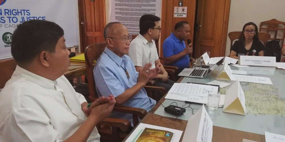 The Archdiocese of Cagayan de Oro launched last week the Human Rights and Access to Justice Initiative which aims to provide legal assistance to the marginalized and document human rights violations in the city. (PJ Orias)