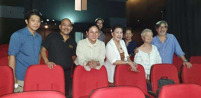 BACOLOD. Liza Dino-Seguerra, chairperson of the Film Development Council of the Philippines (FDCP), leads the opening of the Cinematheque Centre at the Negros Museum in Bacolod City. (Carla Cañet)