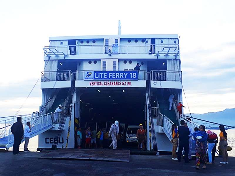 The newly-renovated passenger vessel Lite Ferry 18 plies the Cebu-Cagayan de Oro route every Monday, Wednesday and Friday at 7 p.m and the CdO-Cebu route every Tuesday, Thursday and Saturday at 7 p.m. with travel time of 9 hours.