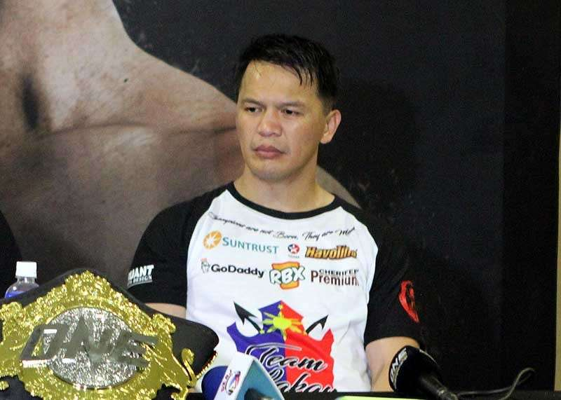 BAGUIO. From a world-class athlete, Team Lakay coach Mark Sangiao has made a name for himself as one of Asia's best MMA coach for steering the Baguio based gym to international fame. (Roderick Osis)