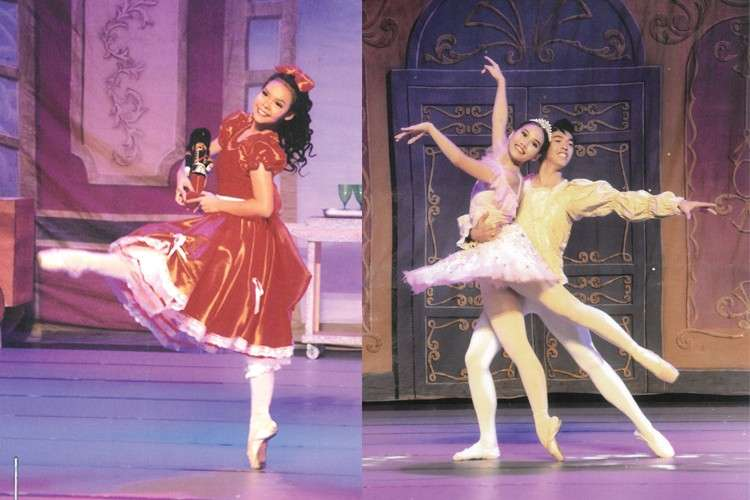 The Nutcracker. Coming up on Dec. 7 and 8 at Ayala Center Cebu's Onstage Cinema 1, is this all-time favorite ballet. Kissy Acar plays Clara (left) while Tzarina Catipay and Khynloyd Genson do the Sugar Plum Fairy and Cavalier, respectively.