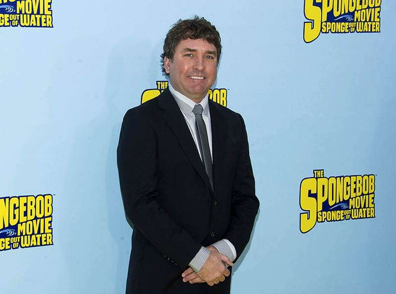 In this January 31, 2015 file photo, SpongeBob SquarePants creator Stephen Hillenburg attends the world premiere of