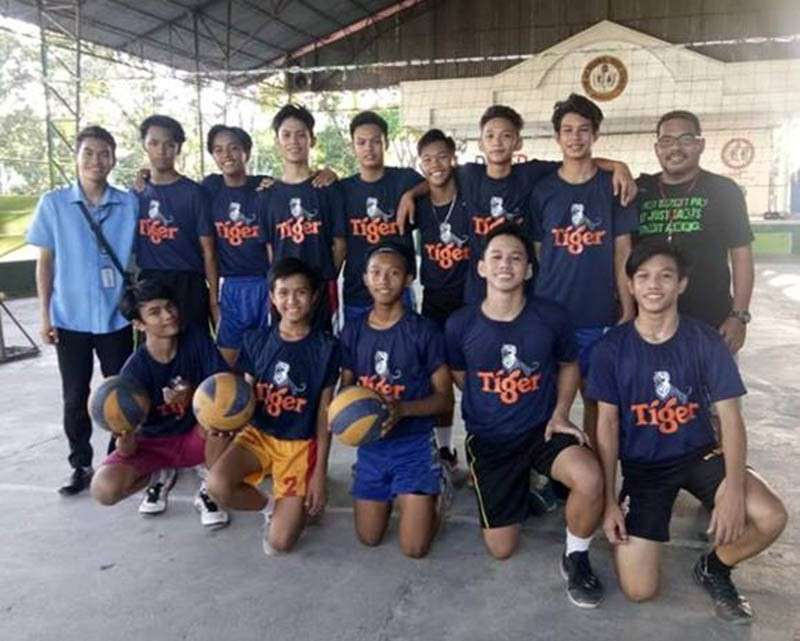 Sum-ag National High School secondary boys volleyball team, which will represent Bacolod City in next month's Palarong Panlawigan, will see action in the Larong Volleyball sa Pilipinas (LVPI)-Cong. Greg Gasataya Visayas Volleyball Finals U-19 Boys and Girls. (SunStar Bacolod photo)