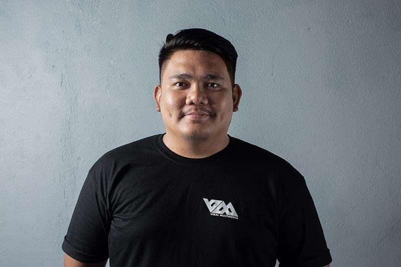 CAGAYAN DE ORO. Lexter Taganas, one of the founder and owners of Viral Multimedia Services and Events. (Photo from Viral Multimedia)
