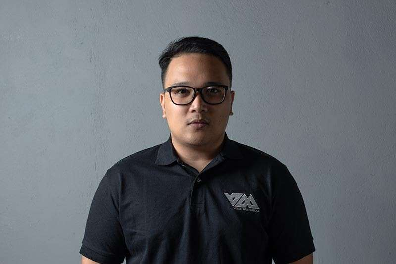 CAGAYAN DE ORO. Mark Daquiz, one of the founder and owners of Viral Multimedia Services and Events. (Photo from Viral Multimedia)