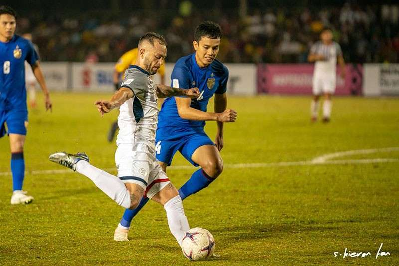 "Bacolod. Philippine Azkals are hopeful to replicate the ""Miracle in Hanoi"" when they host Vietnam tomorrow for the 2018 AFF Suzuki Cup Leg-1 semi-finals at 7:30 p.m. at the Panaad Park and Stadium. (Kieron Tan)"