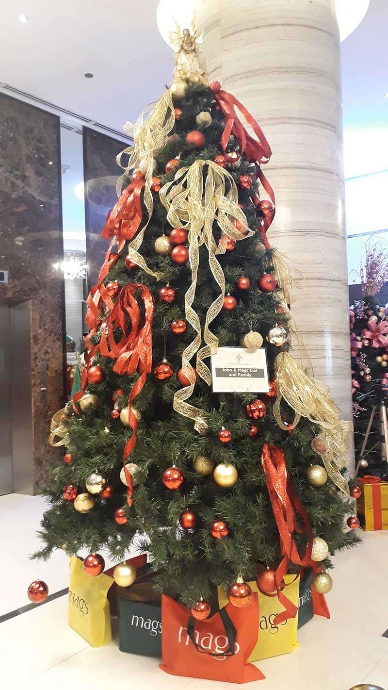 CAGAYAN DE ORO CITY. The Christmas tree of John & Mags Cue and family. (Jo Ann Sablad)