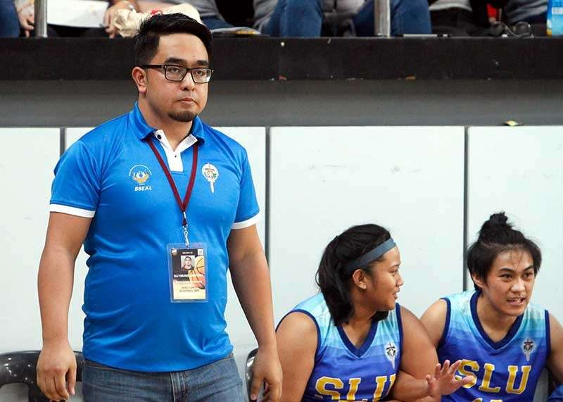 BAGUIO. SLU head coach Raymund Austria is looking forward to having a stint in the national men's basketball team which he said will be a great help to the local basketball scene. (Photo by Jean Nicole Cortes)