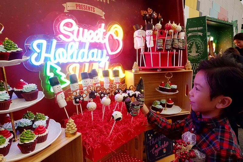 The holidays made sweeter at Harbour City's