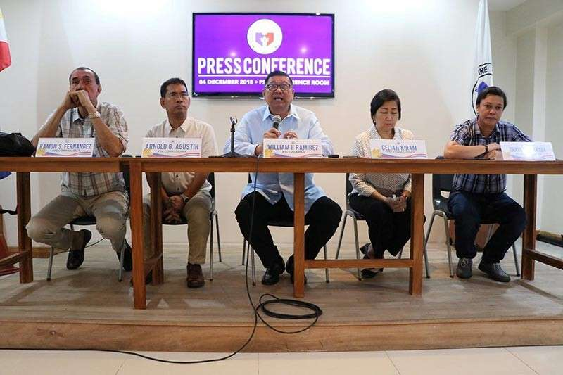 FULL FORCE. The Philippine Sports Commission Board led by Chairman William