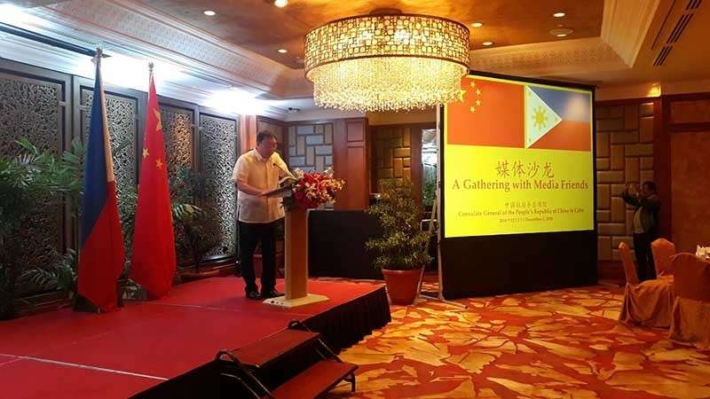 STRONG ALLY. New Chinese consul to the Philippines Jia Li assures Filpinos of the strong support of China in the area of trade, tourism,  culture and education.  Jia said China has become the country's largest trading partner. (SunStar photo/Jean Ynot)