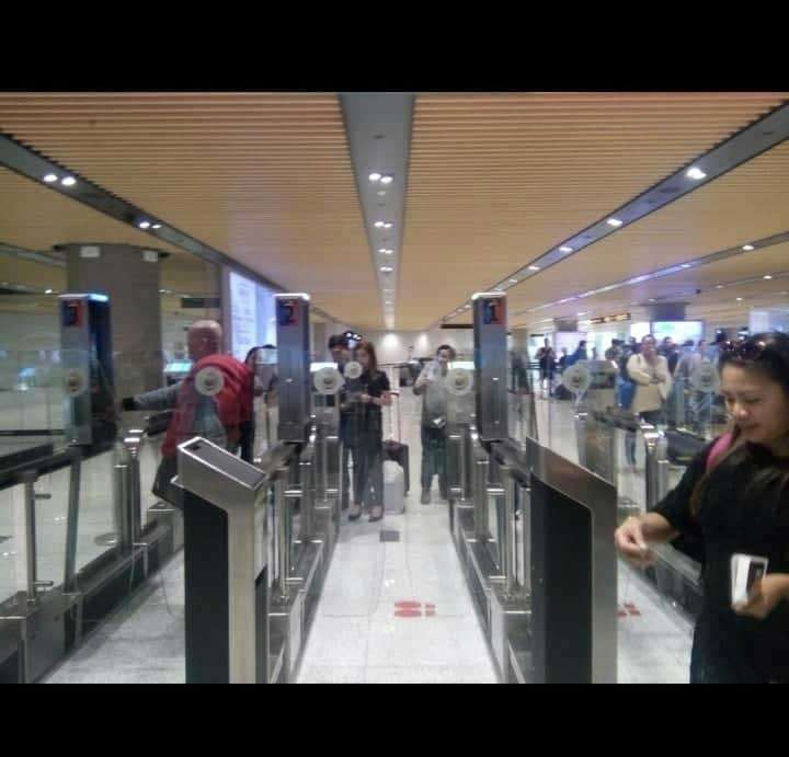 UPGRADE. The new e-gates installed at the Mactan-Cebu International Airport have shortened the time for passport scanning to just 10 to 15 seconds for every  passenger. (Contributed photo)