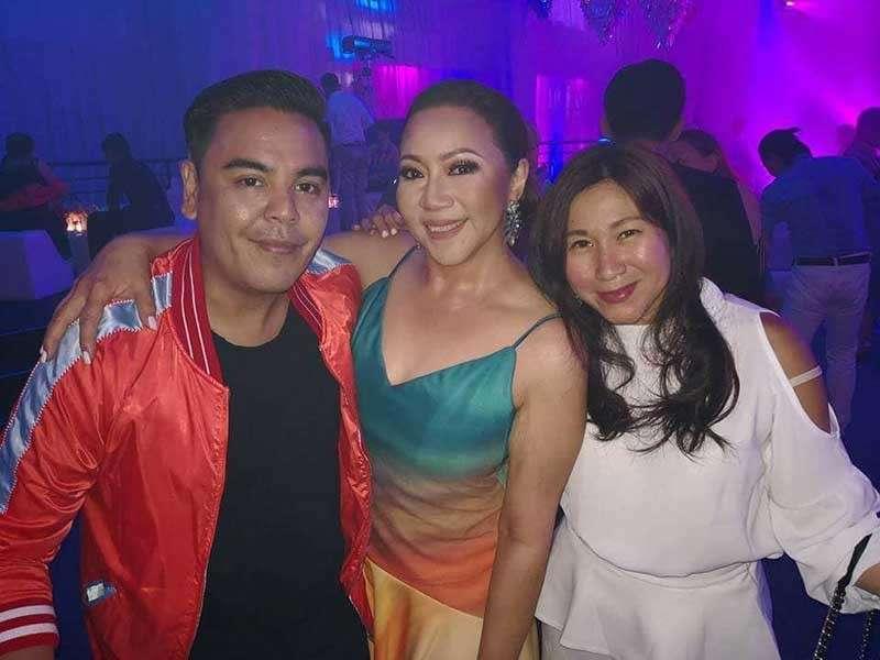 JM Rodriguez, Arlene Cu and Heidi Ng. (Photo by Heidi Ng)