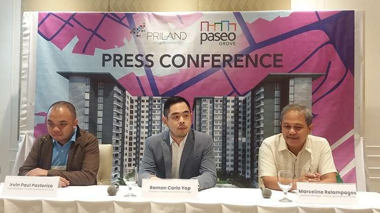 Bullish. Priland Development Corp. credits its aggressive expansion in real estate to Cebu's healthy economy. The company recently launched its newest and last project for 2018 named Paseo Grove, a condominium project with 2,100 units located in Mactan Island. (SunStar Foto / Johanna Bajenting)