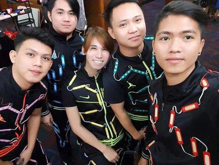 CAPTION: Hulagway gikan sa Alab Poi Fire and LED Dancer FB. (Tampo nga hulagway)