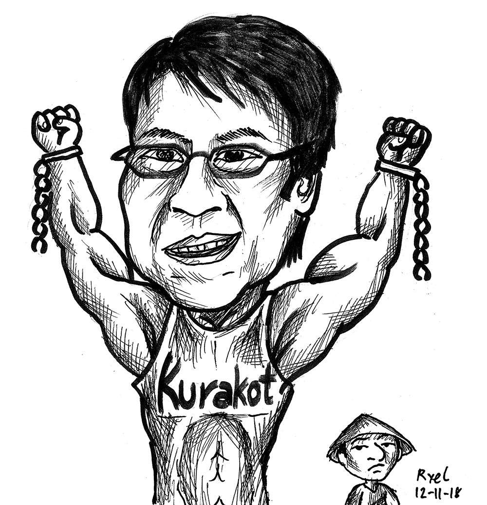 Editorial cartoon by Ariel Itumay