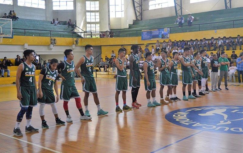 NEGROS. CSAV Titans eyeing to win the Nopsscea men's basketball championship again. (Henry Doble)