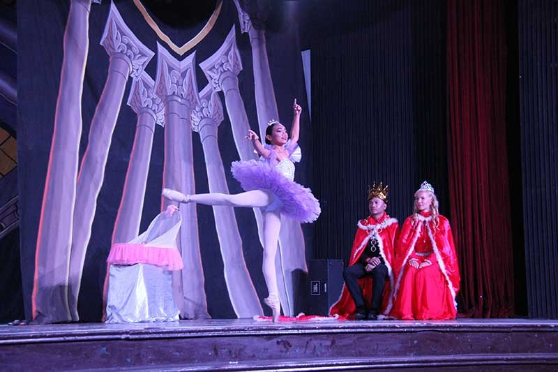 Lilac Fairy with the King and Queen (Contributed Photos)