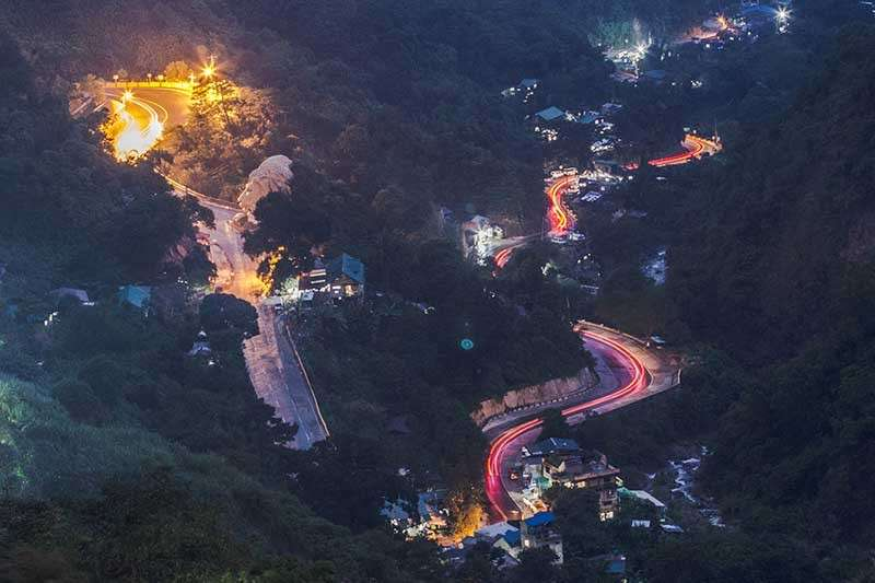 BAGUIO. The scenic Kennon Road is expected to be passable by March next year but for residents only as the Department of Public Works and Highways (DPWH) fast track its rehabilitation. (Photo by Jean Nicole Cortes)
