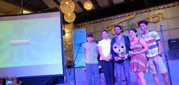 BEST FILM. Pulangui wins best film at the 16th Mindanao Film Festival. (Ace Perez)