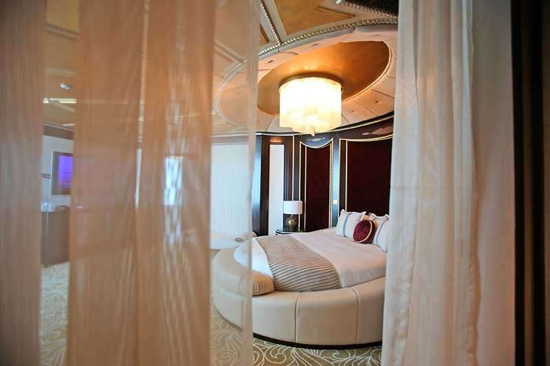 This May 19, 2014, file photo shows the master bedroom in the Abu Dhabi Suite at the St. Regis in Abu Dhabi, United Arab Emirates. Investigators believe hackers working on behalf of China's main intelligence agency are responsible for a massive data breach involving the theft of personal information from as many as 500 million guests of the Marriott hotel chain, a U.S. official said Tuesday, Dec. 12, 2018. (AP File)