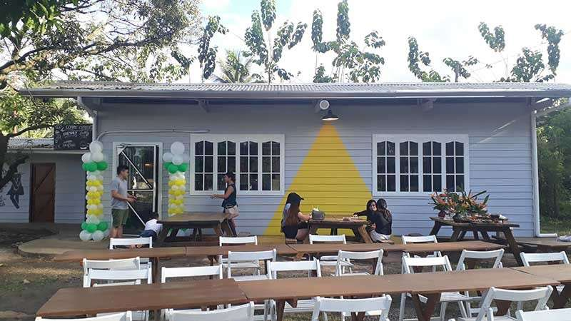 The Lamp Lighter Cafe, owned by the Sarmiento couple, Angeli and Miko, opened last November 30 in Alae, Manolo Fortich, Bukidnon. (Jo Ann Sablad)