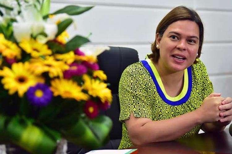 DAVAO. Davao City Mayor Sara Duterte. (FIle photo)