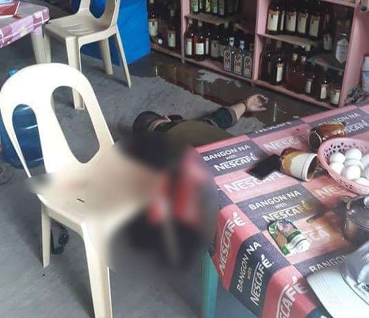 NEGROS. Guihulngan City Police Station Deputy Chief Porferio Gabuya Jr. (above and inset) was riddled with bullets during a coffee break in front of the police station in Guihulngan, Negros Oriental. The Cebu City native led the Talamban and Parian police stations in Cebu before he was assigned to Negros Oriental. (Contributed photo/Guihulngan PNP)